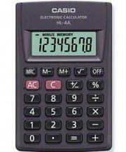Карманный калькулятор casio,  hl-4a-s-eh