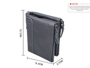 Кожаное портмоне от воровства с банковских карт RFID/Кошелек/Подарок