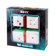 Набор кубиков Рубика Moyu Mei Long. Цветной пластик. Подарок. Кубик