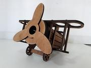 Минибар Самолет/Отличный подарок мужчинам/Мини-бар из дерева/Hand made