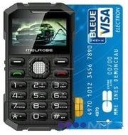 Ультратонкий телефон размером с банковскую карточку Melrose S2
